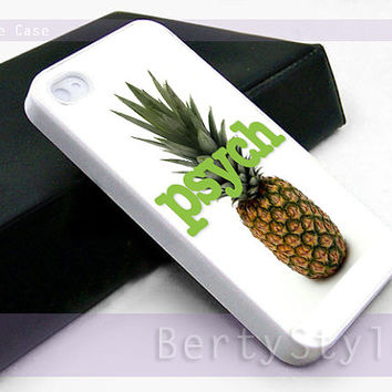 Iphone Case - Iphone 4 Case - Iphone 5 Case - Samsung s3 - samsung s4 - Psych - Photo Print on Hard Plastic