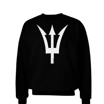 Trident of Poseidon Adult Dark Sweatshirt by TooLoud