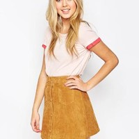 Traffic People   Traffic People Jersey Pastel Dotty For You Top at ASOS