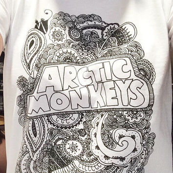 Arctic Monkeys Zentangle shirt