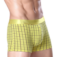 Men Cotton Print Panties [6542447555]