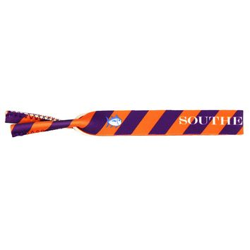 Collegiate Sunglass Straps in Orange & Purple by Southern Tide