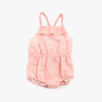 Anais & I Ann Playsuit in Orange Stripe PS10000 - Final Sale
