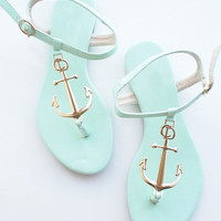Anchor round head sandals 3186CC