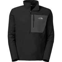 The North Face Tech 100 1/2-Zip Fleece Pullover - Men's Tnf Black/Asphalt Grey,