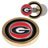 Georgia Bulldogs Challenge Coin / 2 Ball Markers