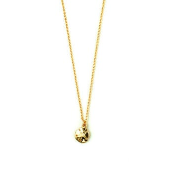 14K Gold Filled Baby Sand Dollar Necklace