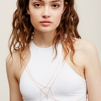 Free People Amani Delicate Chain Bra