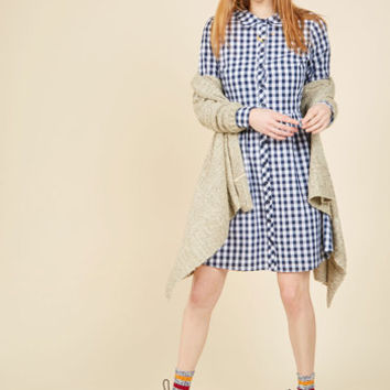 Sample in Style Shirt Dress | Mod Retro Vintage Dresses | ModCloth.com