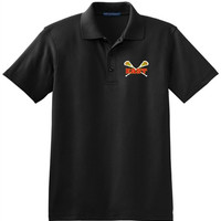 Williamsville East Womens Lacrosse Mens Port Authority® Silk Touch™ Polo