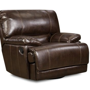 Corinthian 587 Red River Leather Recliner