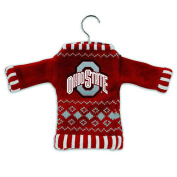3 Christmas Ornaments - Ohio State Buckeyes