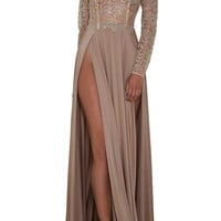 Amrezy Nude Dress