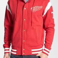 Men's Wright & Ditson 'Detroit Red Wings - Stagger' Hoodie,