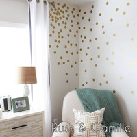 "2"" Confetti Dots in GOLD"