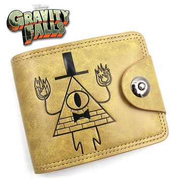 Gravity Falls  Doctor Who Suicide Squad Game of Thrones Short Wallet Purse Bag Handbag Holder Layers Button Wallets
