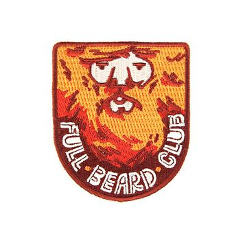 Full Beard Club Patch