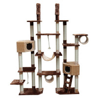 Kitty Mansions Rome Cat Tree | Furniture & Towers | PetSmart