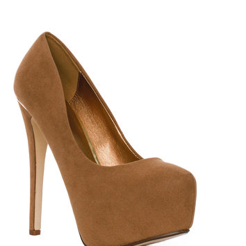 Midnight Pumps - Camel