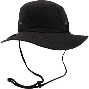 Simplicity Men / Women's Safari Outback SPF 50 UV Protection Foldable Sun Hat