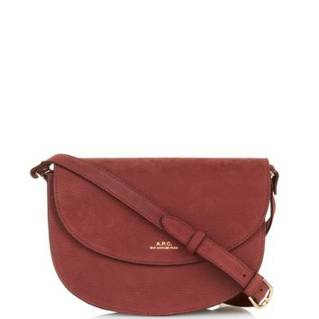 Luxembourg nubuck cross-body bag | A.P.C. | MATCHESFASHION.COM US