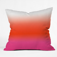 Natalie Baca Under The Sun Ombre Outdoor Throw Pillow