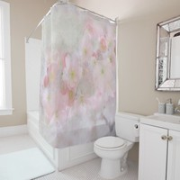 Blooming Spring in Pink Shower Curtain