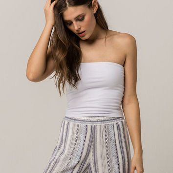 FULL TILT Essentials White Womens Tube Top