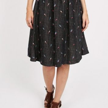 Aviary Striped Skirt