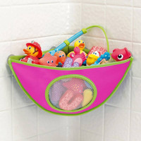 Baby Girl Waterproof Corner Bath Toy Organizer