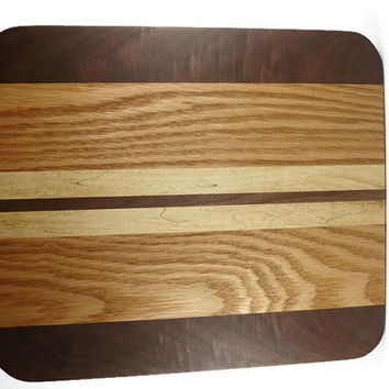 Wood Cutting / Butcher Block Board Handmade By KevsKrafts