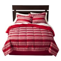 Room Essentials® Stripe Bed in a Bag - Red