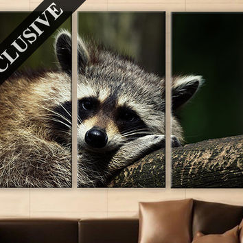 Large Wall Art Canvas Print 3 Panel Art Wall Hanging Animal Wall Art Photo on Canvas Wall Decor for Home & Office Large Wall Decoration