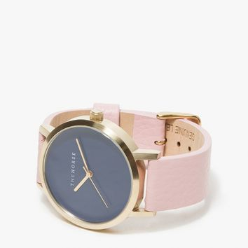 The Horse / Brushed Gold/Musk Band Watch
