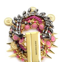 Gold Multi Strand Statement Bracelet by Juicy Couture, O/S