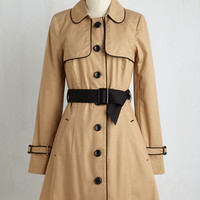 Menswear Inspired Long Long Sleeve Urbane Existence Coat