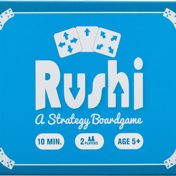 Rushi Board Game: A Strategy Game like Checkers '