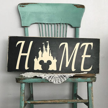 Home is where the castle is, disney wedding, disney castle, disney decor, disney sign, in this house we do disney, wedding gift, bridal show