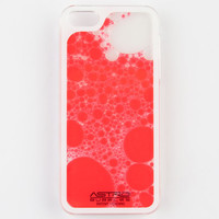 Astro Bubbles Liquid Filled Iphone 5/5S Case Red One Size For Men 24177330001