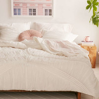 Ruffle Comforter - Urban Outfitters