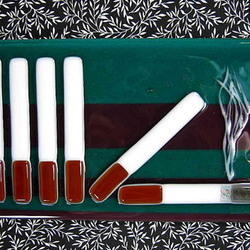 Cigarette Art, Smoking Glass Art