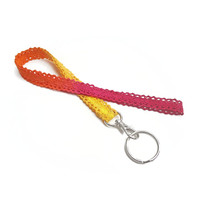 Sunrise Lace Lanyard