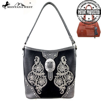 Montana West MW163G-916 Buckle Handbag