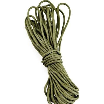VONE05L New 10M Paracord 550 Paracord Parachute Cord Lanyard Rope Mil Spec Type III 7 Strand Climbing Camping