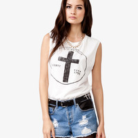 Faded Cross Tank