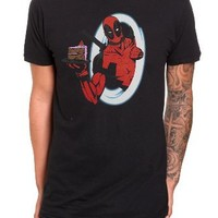 Marvel Universe Deadpool Cake T-Shirt