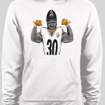 """PITTSBURGH STEELERS JAMES CONNER """"CONNER STRONG"""" HOODIE"""