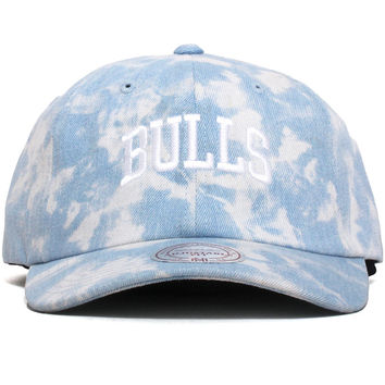 Chicago Bulls Light Arch Dad Hat Denim