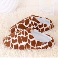 2017 New Shoes Favolook Women Warm Winter plush Indoor Home Soft Slippers Shoes Sandals