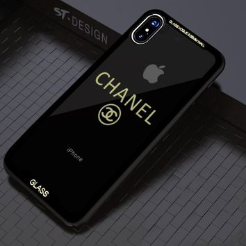 Chanel iPhone7plus mobile phone case avengers transparent shell simple shell